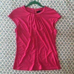 Hot pink Cap sleeve blouse